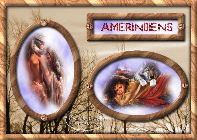 """5- """"Amérindiens""""  tuto de vannades cré@ 3505715Amrindiens"""