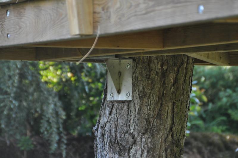Projet de toboggant pour la cabane dans les arbres de mon fils, vos idées? - Page 3 351808Cabane17