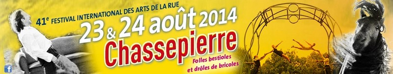 CHASSEPIERRE 2014, FÊTE DES ARTISTES. 351883CHSPR14BANDEAU960