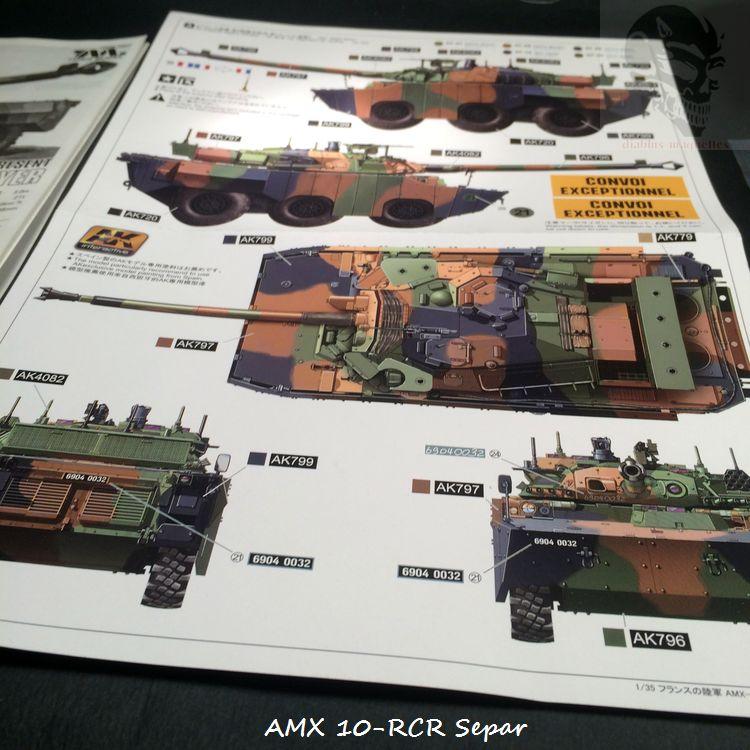 AMX 10 RCR SEPAR maquette Tiger Model 1/35 354663IMG3748