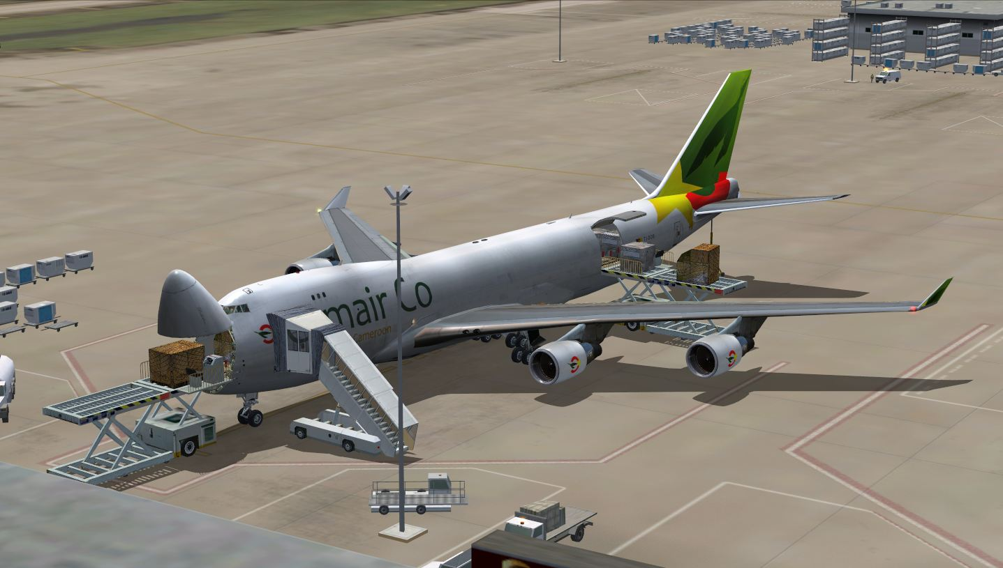 """Cameroonising Heavily"" Flight Simulator for a while now... 355210CAMAIRCO12"