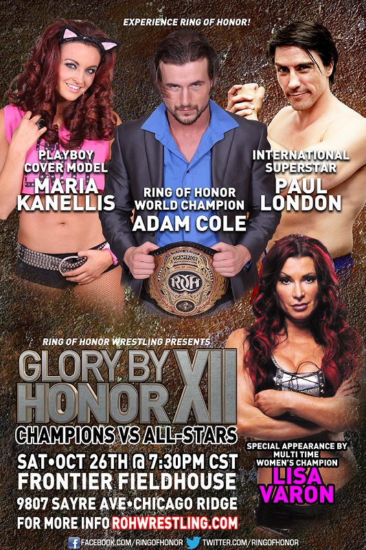 [Carte] Ring of Honor : Glory by Honor XII 355552gbh