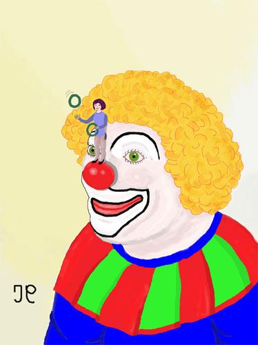 """Nouvelle illustration pour """"La boule rouge"""". 355560Laboulerougeadobew"""
