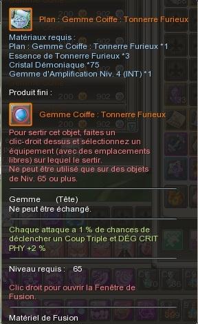 Gemme Coiffe  358233GemmeCoiffeTonnerreFurieux
