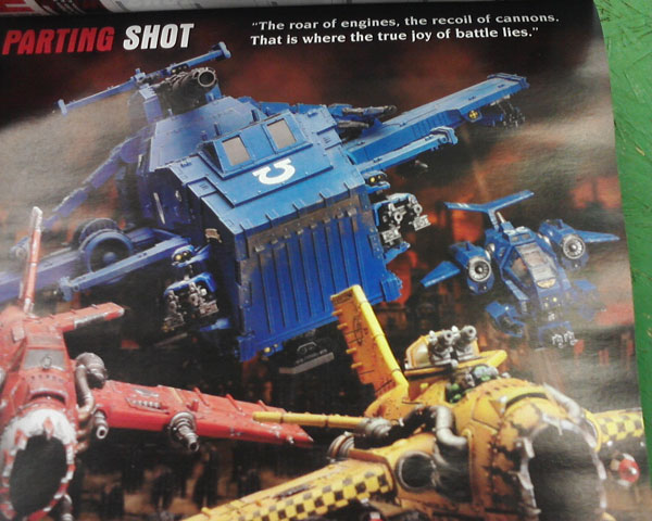 Rumeurs : Thunderhawk space marine 358236Thunderhawk