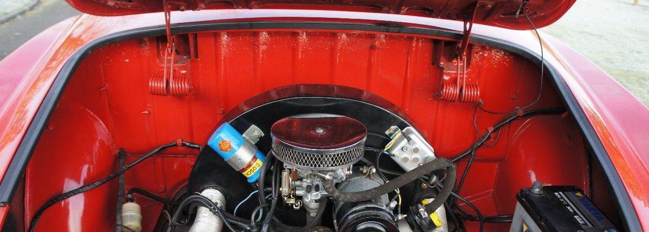 Joint compartiment moteur 359486jointmoteurkgrouge