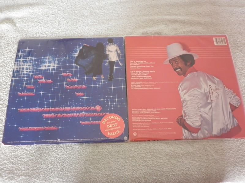 LP'S-LARRY GRAHAM-SOONER OR LATER-82-WARNER BROS REC 359913l2
