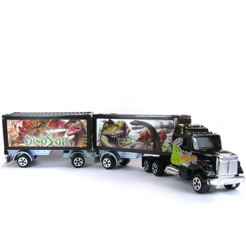 N°607 White + Semi Bi-Train Container 360288371