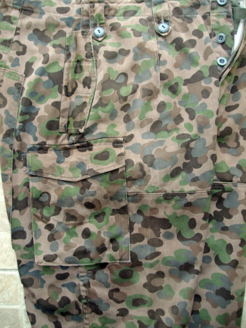 Dot camo trousers 363544autr2