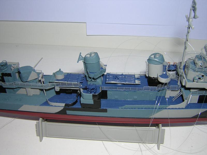 DD- 541 USS YARNELL 1/350, base Trumpeter 363814DSCN7079