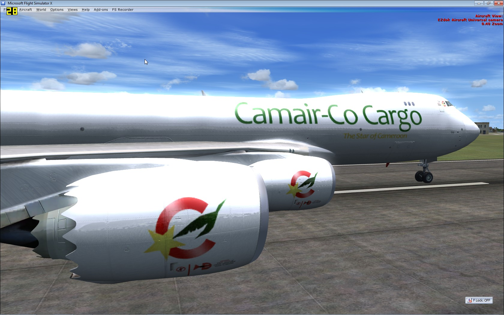 """Cameroonising Heavily"" Flight Simulator for a while now... 364732MicrosoftFlightSimulatorX2"