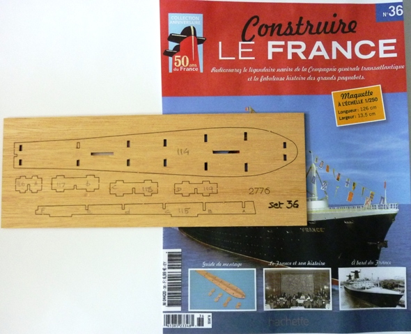 Le france  au 1/250è - hachette-Amati - Page 7 364854Fasc036r