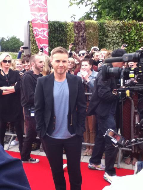 Gary arrive à l'audition de X Factor à Birmingham 1/06/11 368472311422868