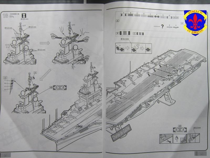 Porte avions Charles De Gaulle au 1/400 d'Heller 368497IMG25281