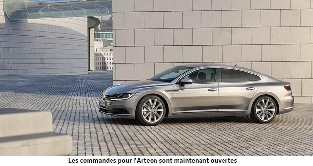 Ouverture à la commande de la nouvelle Volkswagen Arteon 368776VWArteon13