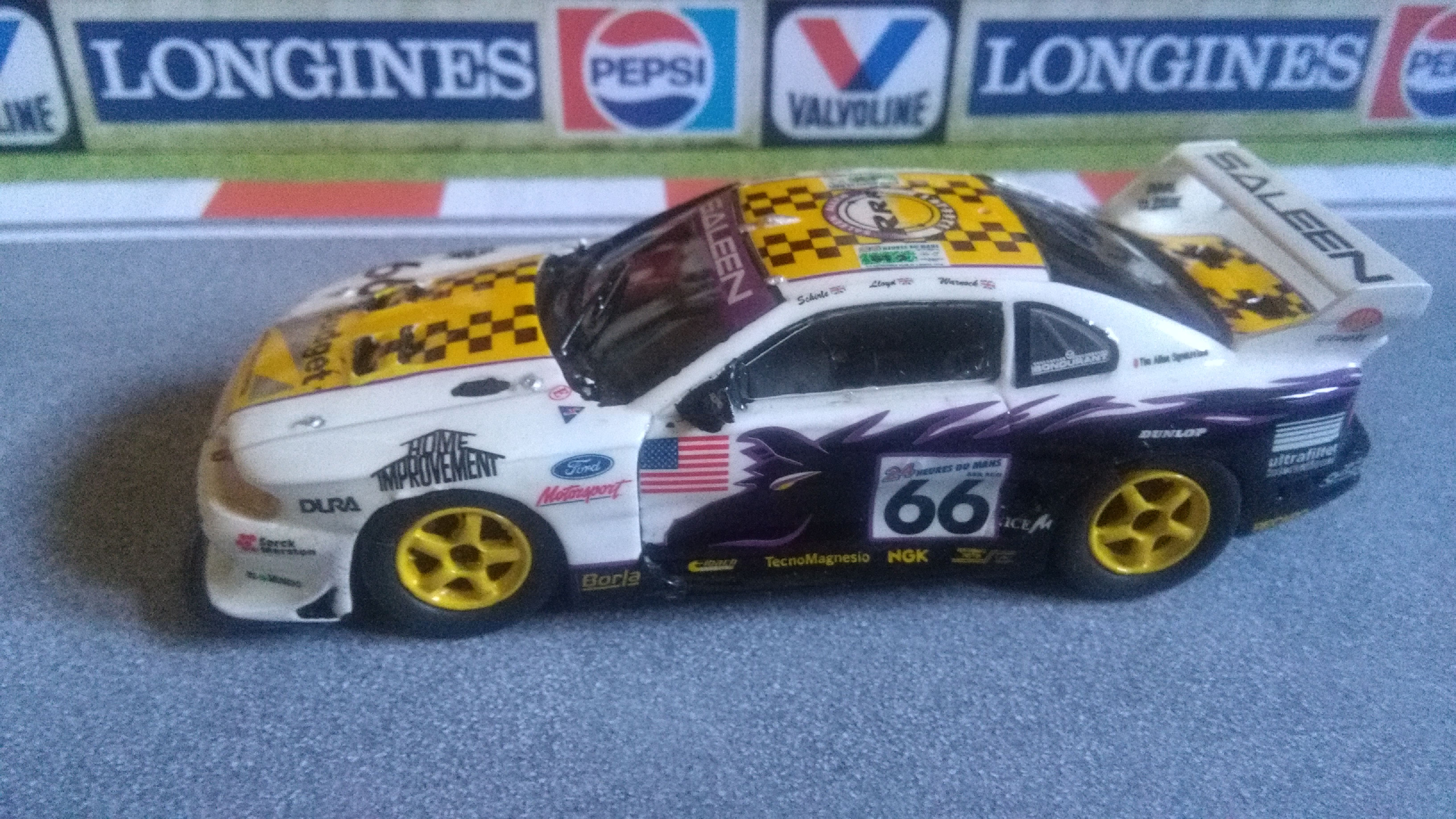 Mustang Saleen Le Mans 1997 #66 (not me) 370562IMG20170713190108