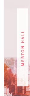 ✻ membre de la merton hall