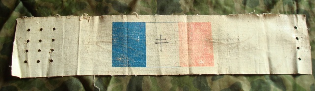 LES INSIGNES DU BATAILLON DE CHOC 1943/1963. 372234Brassardinvasion1