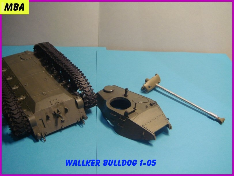 Le M41A3 light tank Wallker Bulldog au 1/35ème AFV club 373364WalterBulldog105