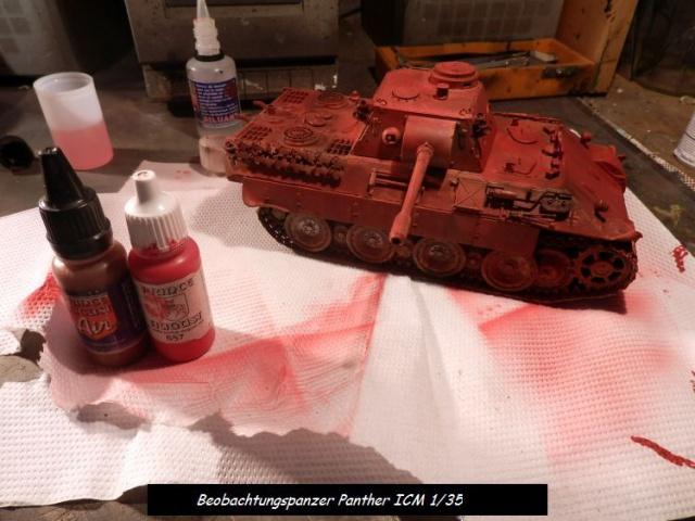 réhabilitation d un Béobachtungspanzer Panther ICM 1/35 374088P4240381