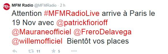 MFM Radio Live - Paris - 19/11/14  374248Sanstitre