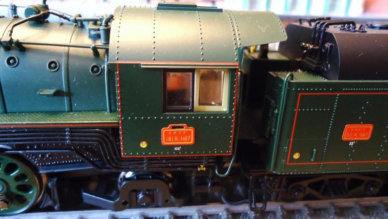 Loco vapeur 141 Jouef 3 rails AC d'origine 375152DSC02366
