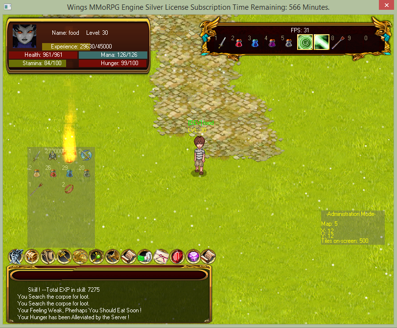 Wings mmorpg maker 2d !! 375162MagicDropParticleItems