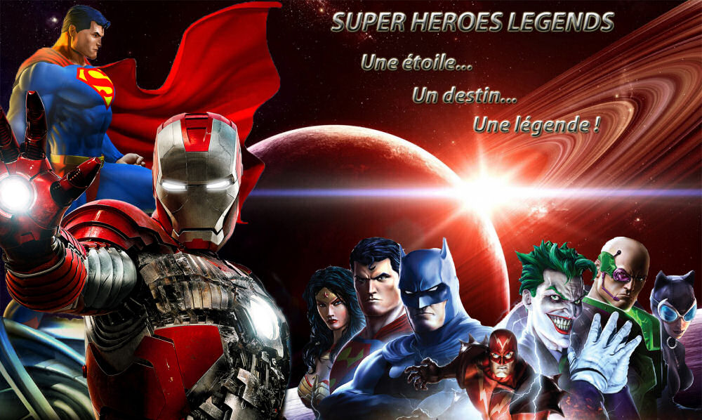 Super Heroes Legends