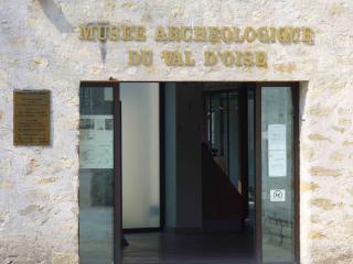 Visite au musée archéologique du Val d'Oise. 382925musee1
