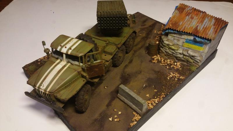BM-21 GRAD 1/35 TRUMPETER 38642320161111211031