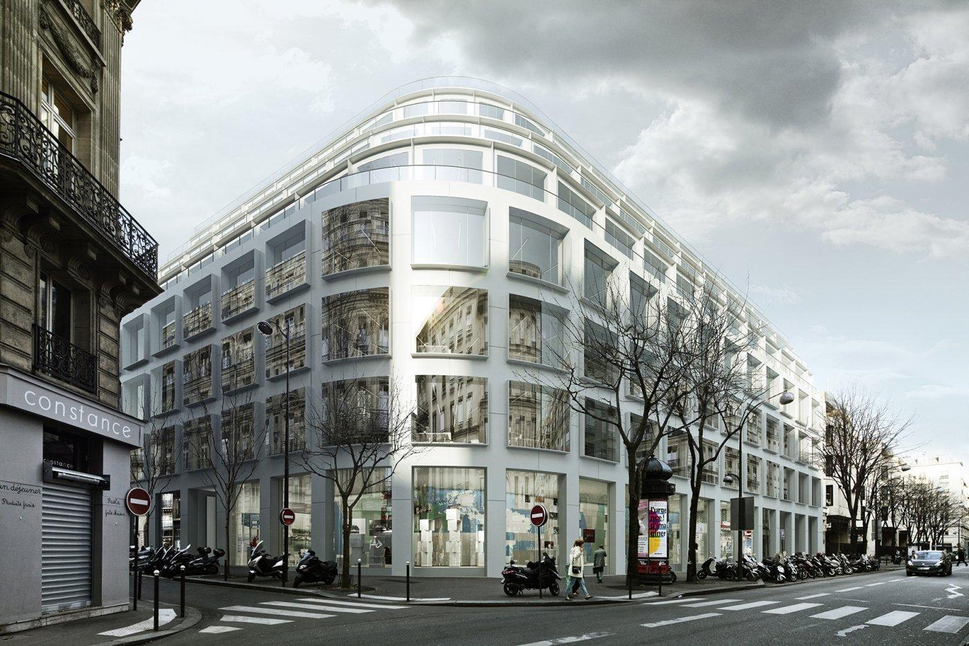 l'architecture contemporaine à Paris. 388290thf14b372f631d34b12c8cc2a952fcca42pcacldpers00