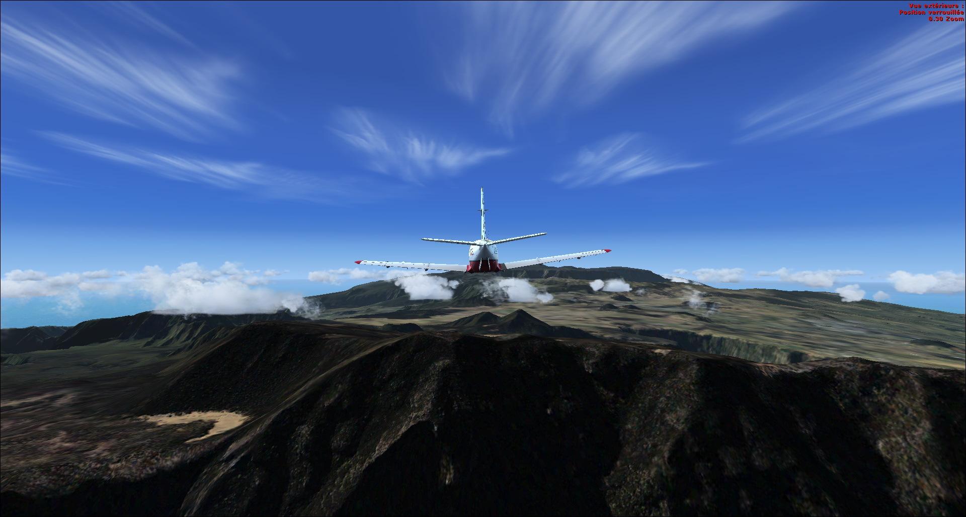 Survol de l'Ile de la Réunion 388357201482920534755