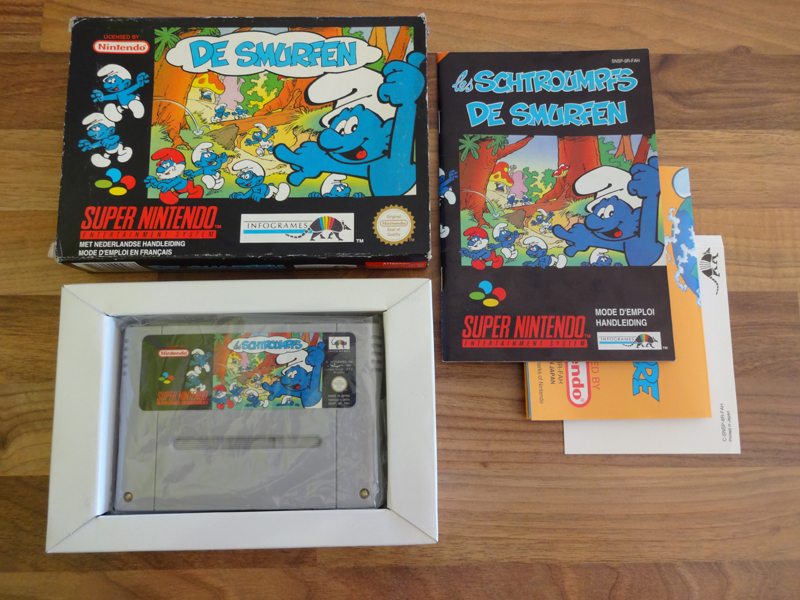 Prupru's Collection ! 100% Super Nintendo et 200% Super Comboy !! - Page 18 388440DeSmurfenFAH