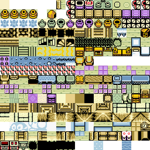 Ressources bgm me et tileset Zelda Oracle 388623Tileb