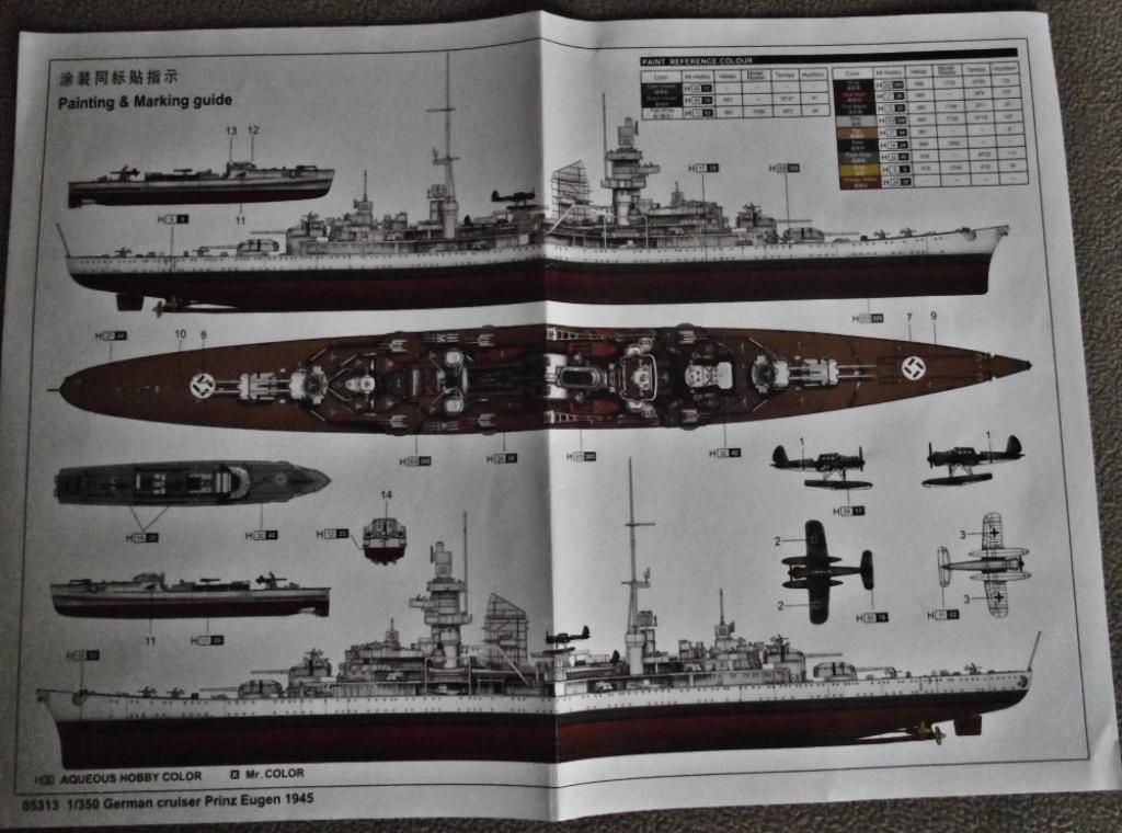 Prinz Eugen Trumpeter au 1x350 389279PrinzEugenTrumpeter1x3502