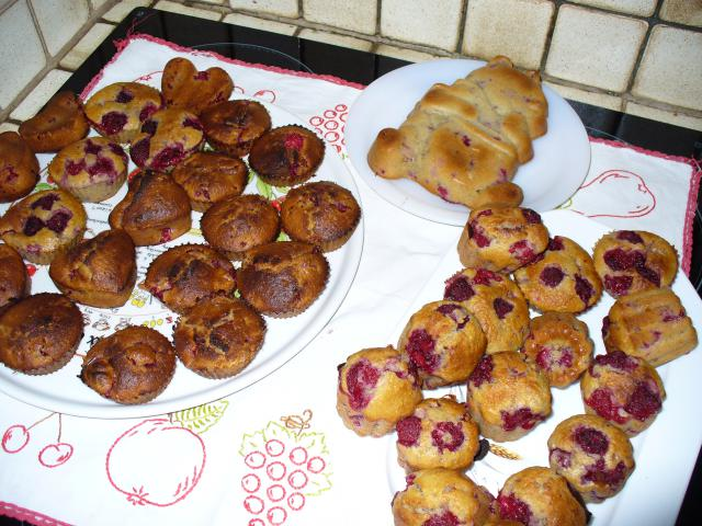 Muffins aux pommes et au son d'avoine 389731P1050677