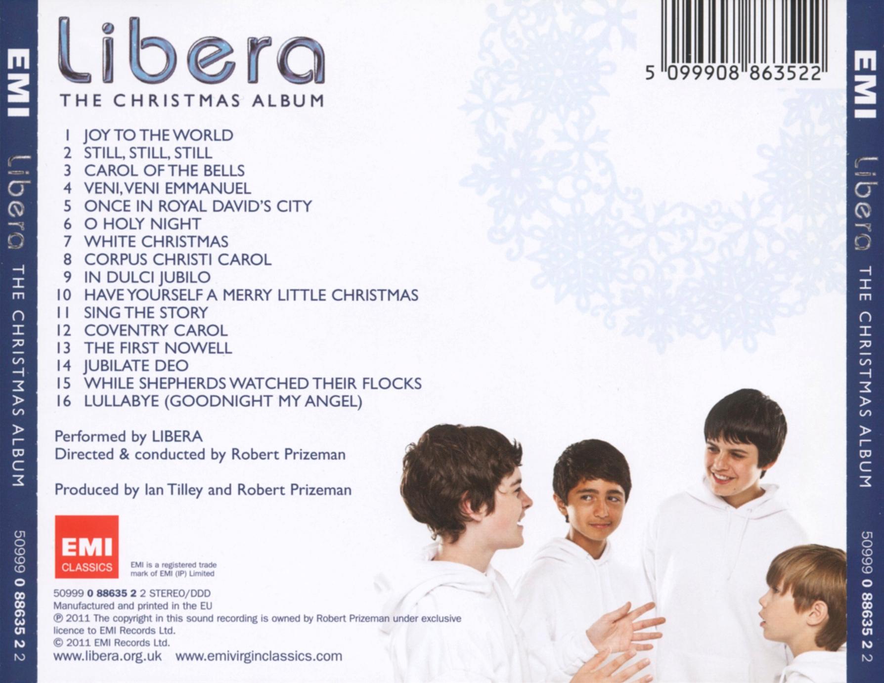 La discographie Libera 390031Doslarge