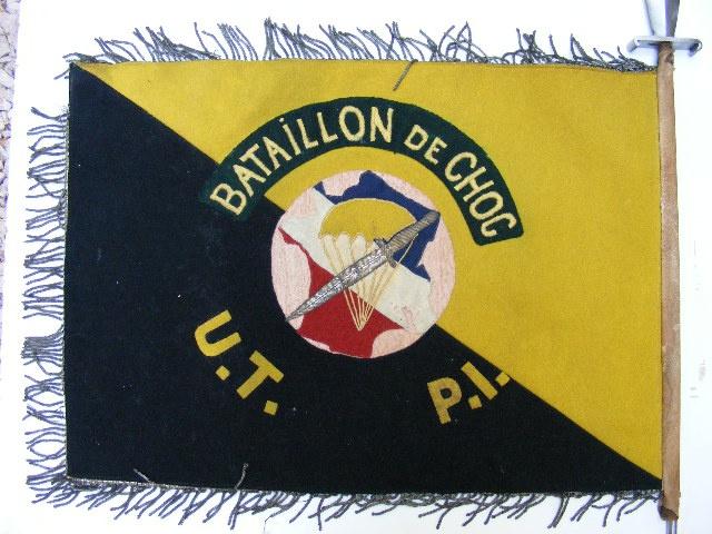 Le Bataillon de Choc 1943/1963. Photos. 394746FanionUT1