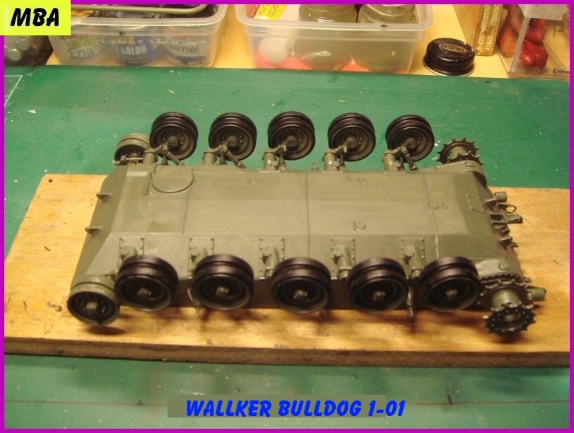 Le M41A3 light tank Wallker Bulldog au 1/35ème AFV club 394859WalterBulldog101