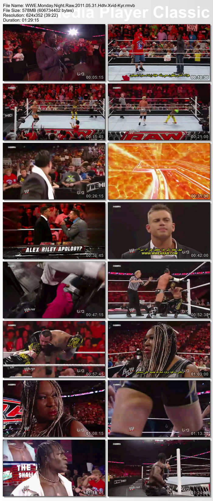 حصرياً و لاول مرة في صحبة نت تحميل عرض WWE Raw بتاريخ 30/5/2011 مترجم علي اكثر من سيرفر     395270thumbs20110531202019