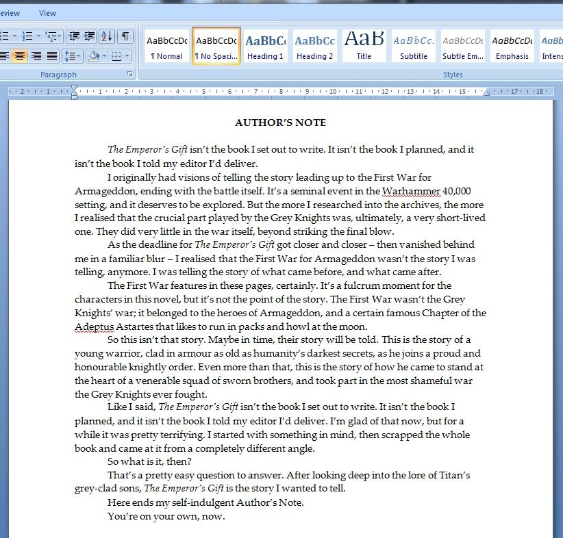 News de la Black Library (France et UK) - 2012 396346emperorgift