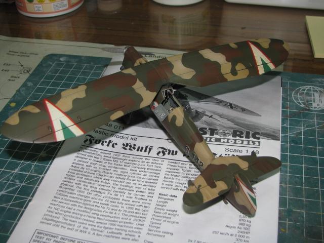 FW-56 Stösser 1/48 Historic Plastic Models ...terminé! - Page 2 396381IMG3525