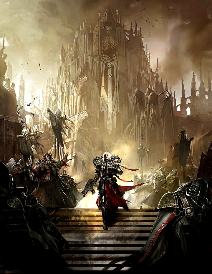 [W40K] Collection d'images : Inquisition/Chevaliers Gris/Sœurs de Bataille 398708sisterofmercy