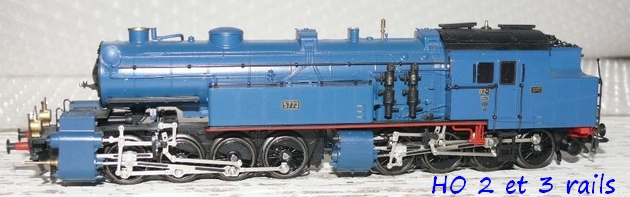 Les locomotives à vapeur articulées 399041Marklin3798MalletBR965773DRGbleueR