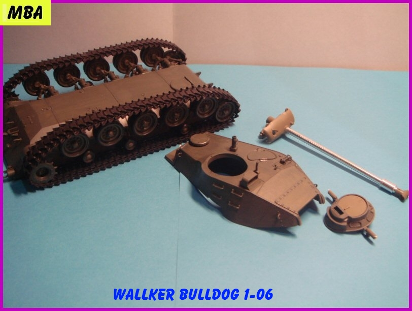 Le M41A3 light tank Wallker Bulldog au 1/35ème AFV club 400698WalterBulldog106