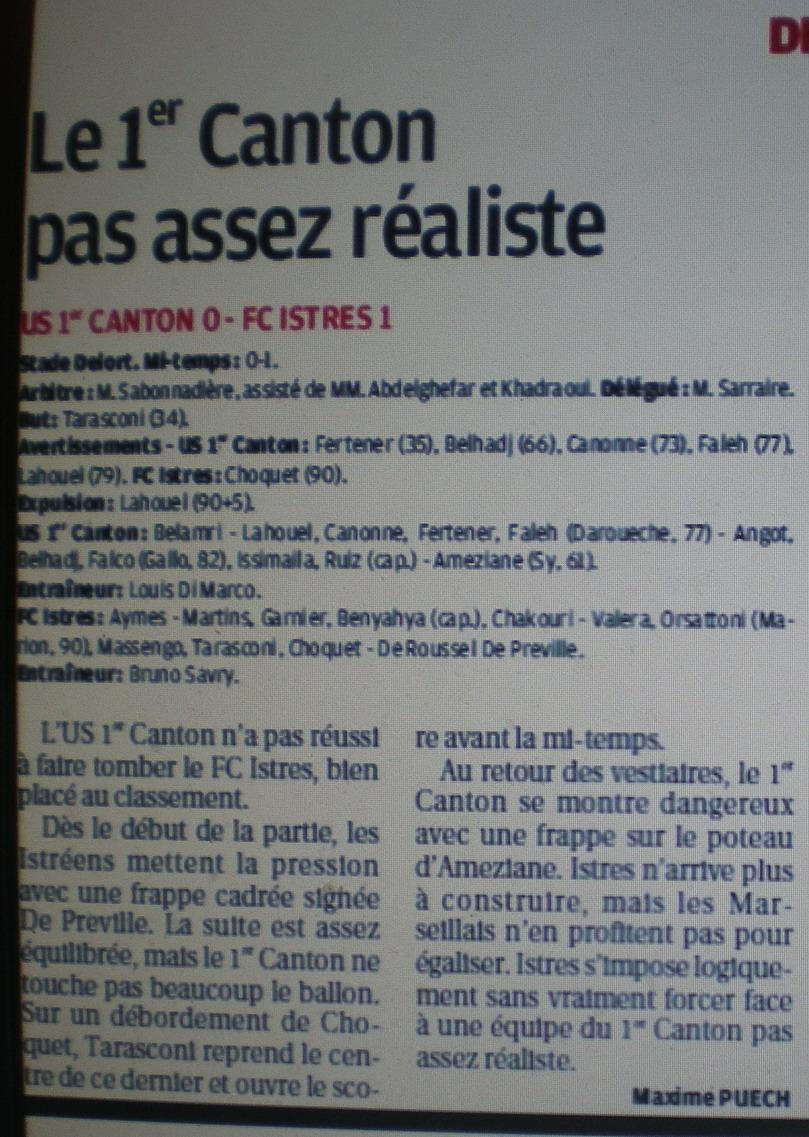 FC ISTRES B  // DHR  MEDITERRANEE  et AUTRES JEUNES  - Page 2 402093IMGP5538