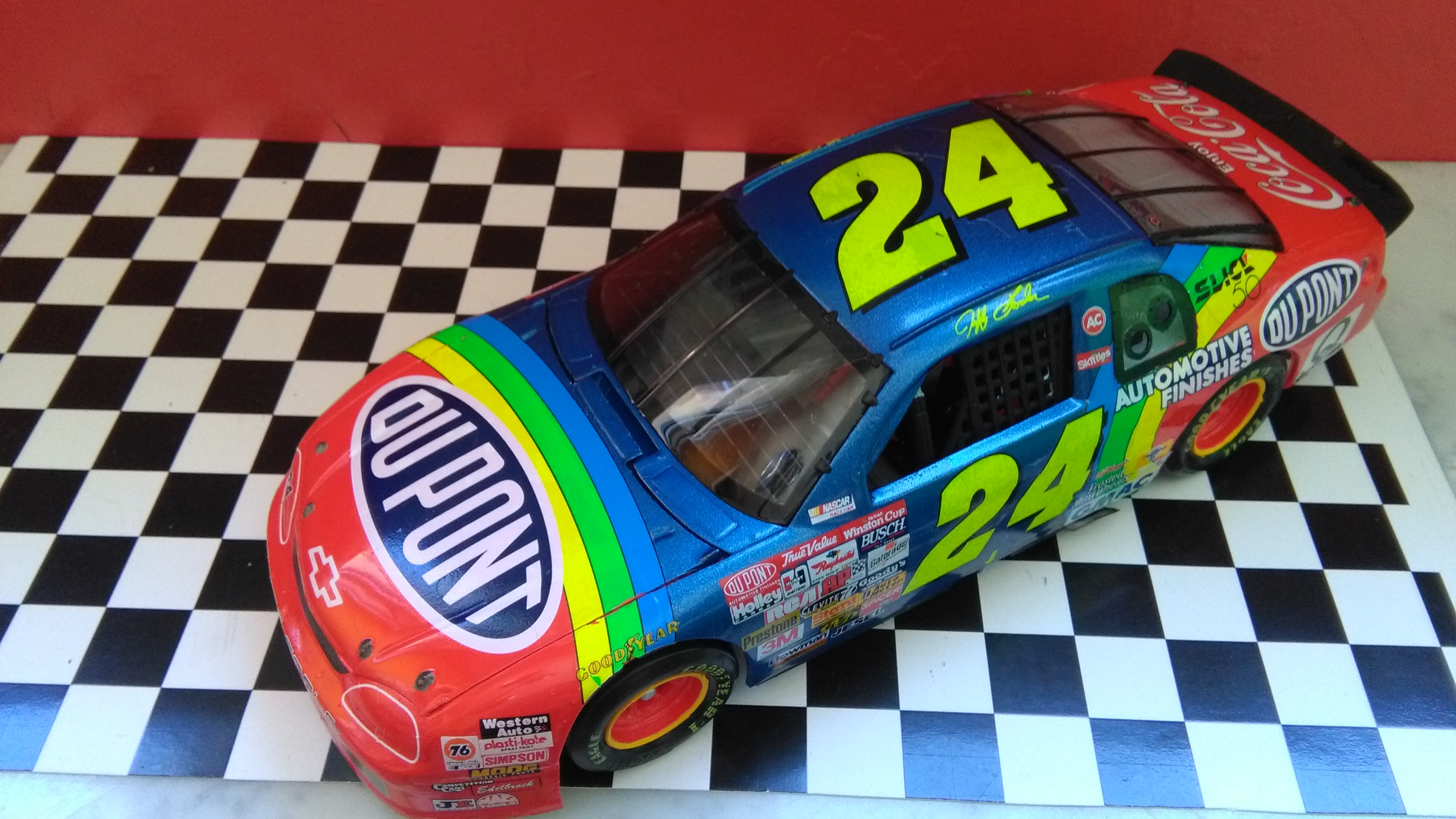 Chevy Monte-Carlo 1996 #24 Jeff Gordon Dupont Dover wins  403704IMG20170521140646