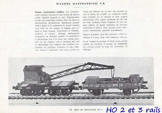 Catalogues 1950 et 1954 couverture photo (extraits) 404197VBcatalogue19542R