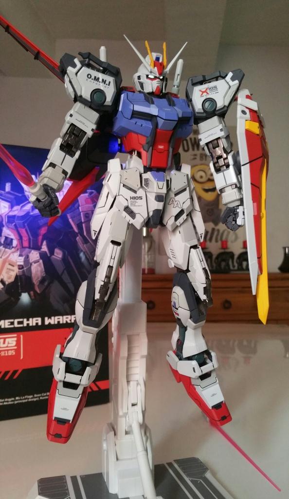 Review/Edito : Strike Gundam Metal Build 1/72 by Moshow la leçon Chinoise donnée a Bandai  405217201610061500411