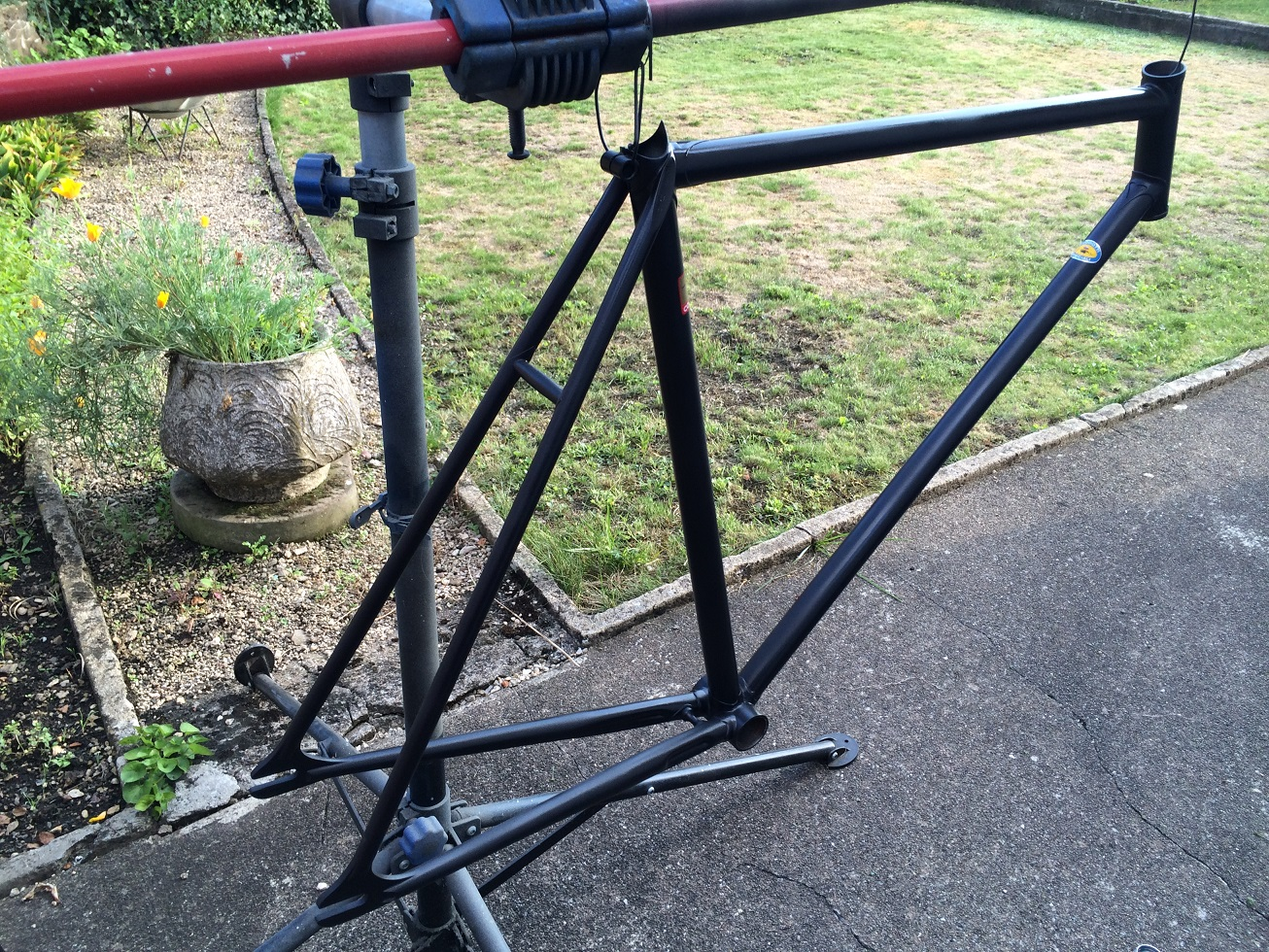 Vélo de piste Jean Marie Brun Tubes Columbus 408659IMG2440